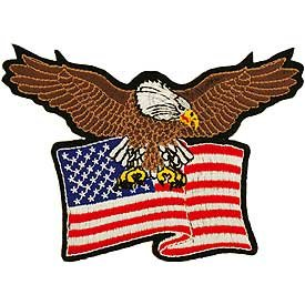 Eagle/Flag Patch