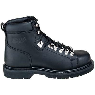 "Men's Bates 6"" Black Canyon Lace to Toe Boots"