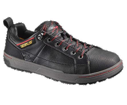 Men's Brode Steel Toe Work Shoe- Black