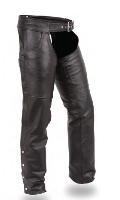 Lowrider Leather Chaps Removable Quilted Insulated Liner