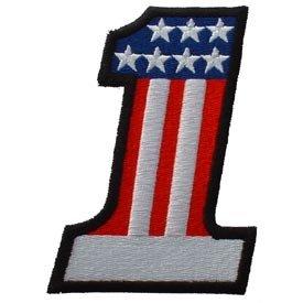 USA #1 Patriotic Patch