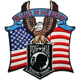 POW*MIA Eagle/Flag Patch