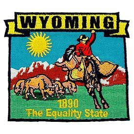 Wyoming State Patch