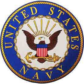 United States Navy Logo Patch