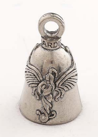 Praying Angel Guardian Bell