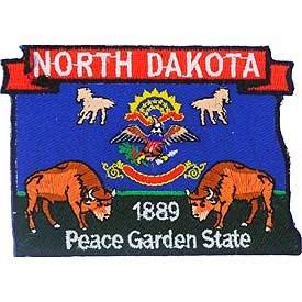 North Dakota State Patch