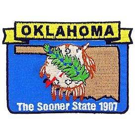 Oklahoma State Patch