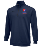 Nike USAW Navy 1/4 Zip Training Top