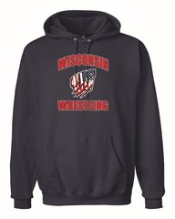 WI Wrestling USA Cotton Hoodie