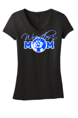 Wrestler's Mom V-Neck T-Shirt