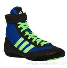 ADIDAS COMBAT SPEED 4 BLUE/LIME GREEN/BLACK
