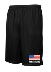 """""""Flag"""" Mesh Shorts"""