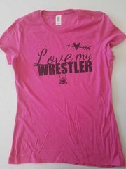 Love my Wrestler women's t