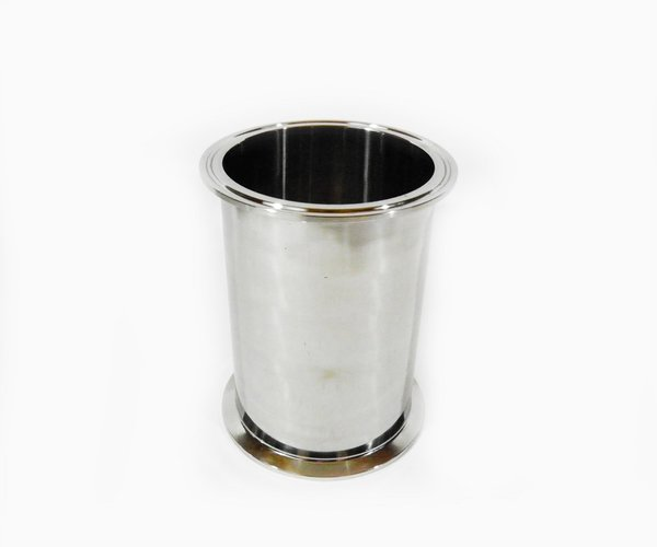 Quot long spool pipe tri clamp ss for moonshine