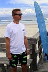 Green Shark Shorts