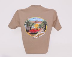 Red Corvette Tee - Tan