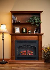 Outdoor Greatroom Electric Fireplace Rio Grande Cabinet Set