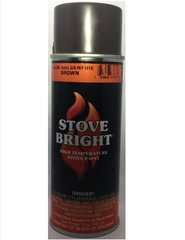 Stove Bright Fireplace Paint - Goldenfire Brown