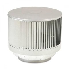 Round Louvered Termination For SK8 Pipe