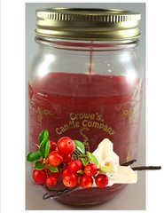Cranberry Vanilla Candle