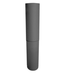 "Ultrablack by ICC 6"" Telescoping Pipe (40""-68"")"