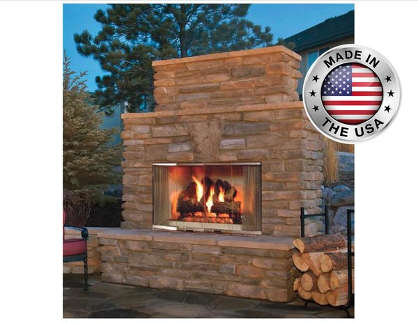 Outdoor lifestyles montana outdoor wood fireplace shopfireside outdoor lifestyles montana outdoor wood fireplace teraionfo