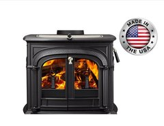 Vermont Castings Intrepid II Catalytic Wood Stove in Classic Black