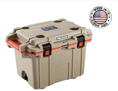 Pelican 50qt Elite Cooler - Tan