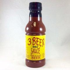 3 Beer BBQ Sauce