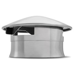 Stainless Adjustable Chimney Cap for Big Green Egg by SmokeWare