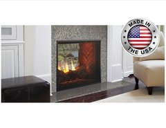 Outdoor Lifestyles Indoor/Outdoor Fortress Direct Vent Gas Fireplace