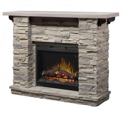 Dimplex Featherstone Electric Fireplace Set w/Logs