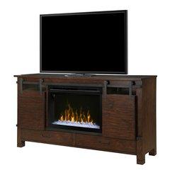 Dimplex Austin Media Console w/Electric Firebox