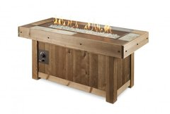 Outdoor GreatRoom Vintage Linear Fire Pit Table