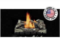 Monessen Vent Free Mountain Oak Gas Log Set