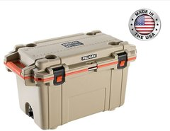 Pelican 70qt Elite Cooler - Tan