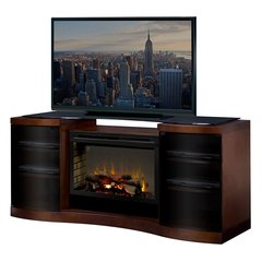 Dimplex Acton Media Console w/ Electric Firebox - Logs