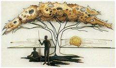 Serengeti Sunset by Artisan House (Original Piece)