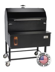 """Smokin Brothers 72"""" Light Commercial Pellet Grill"""