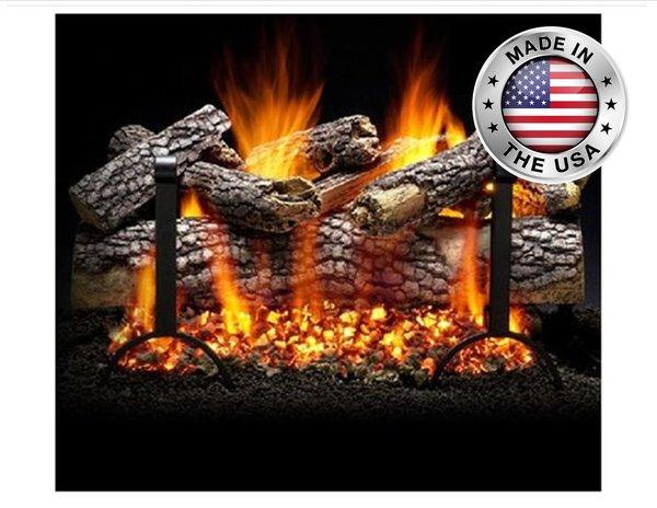 Live Oak Gas Log Set By Heatmaster Shopfireside Grills