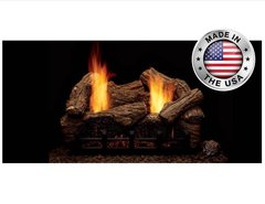 Monessen Vent Free Highland Oak Gas Log Set