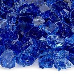 """American Fireglass 1/2"""" Cobalt glass"""