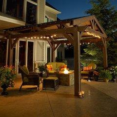 Outdoor GreatRoom Lodge II Pergola (14' X 14')