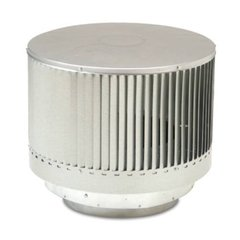 Round Louvered Termination for CF11 Pipe