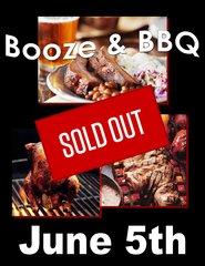 BBQ Cooking Class 4 - Booze & BBQ - 6/5/18