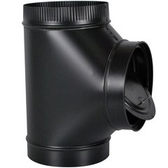 Imperial Stove Pipe Single Wall Tee (without Cap)