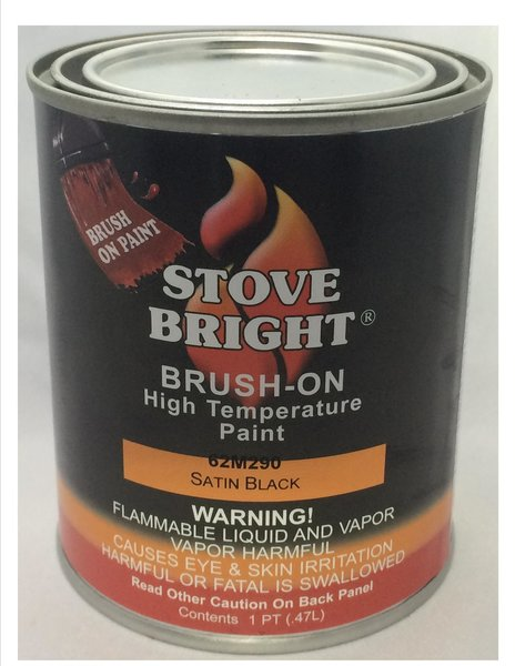 Brushable Satin Black Pint Stove Bright Shopfireside