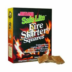 Rutland Fire Starter Squares 144 Pack