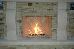 American Fireglass H Burner Kit w/Remote