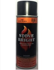 Stove Bright Fireplace Paint - Satin Black